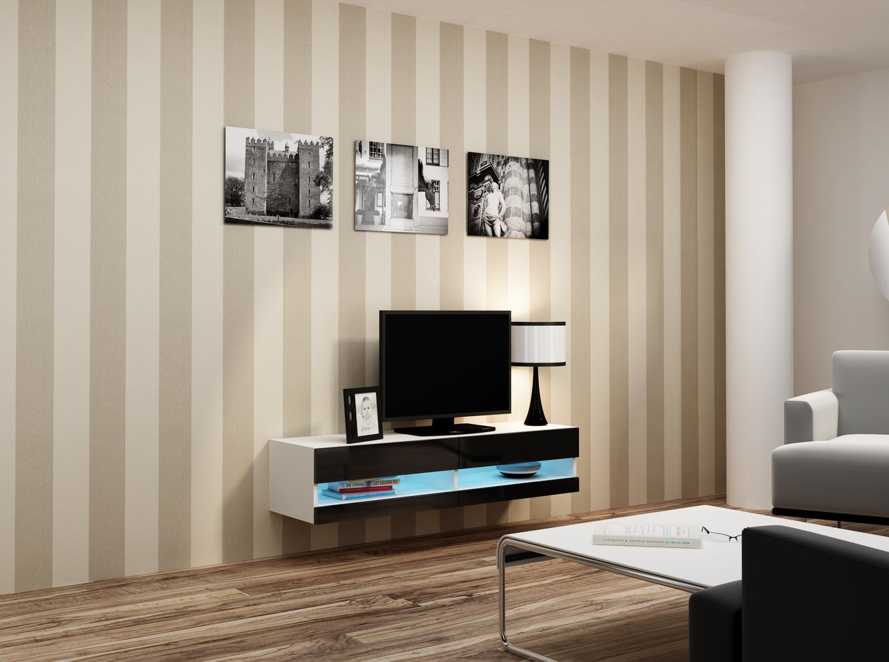 TV stolek NEW 140 (140x40x30cm)