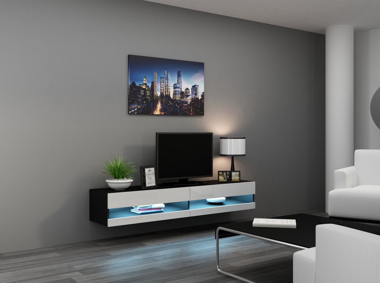 TV stolek NEW 180 (180x40x30cm)